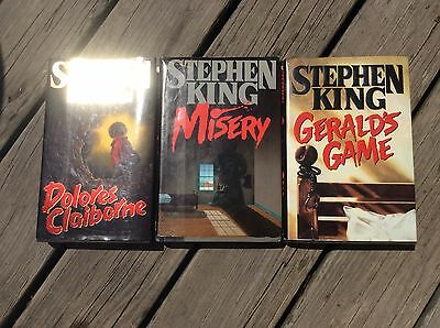 Lot Of 3 Stephen King Hard Cover Books