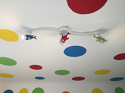 Ikea Bedroom Lights and shelves (multiple sets in this one sale, see pics)