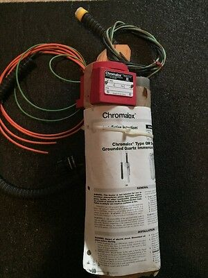 NEW: Chromalox Grounded Immersion Heater CAT NO. QM-12 240V
