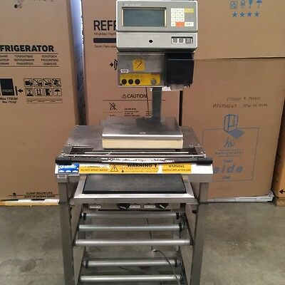 Wedderburn Manual Food Wrapping Stand With Printing Scales