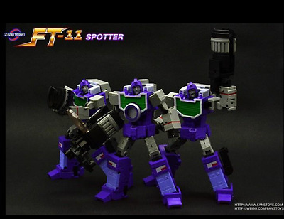 New FansToys Transformers FT-11 G1 Masterpiece MP Spotter Reflector in Stock