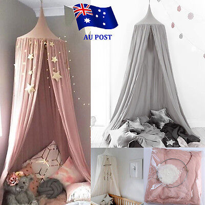 Canopy Bed Netting Mosquito Bedding Net Baby Kids Reading Play Tents Bedcover BO