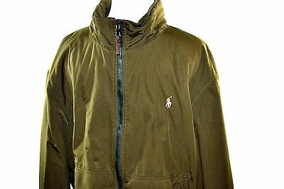 Polo Ralph Lauren Men's Army Green Puffer Style Jacket Size (XL)  Spring Coat