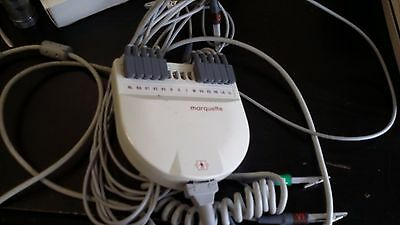 Marquette /GE AM-5 Acquisition Module with leads as pictured working