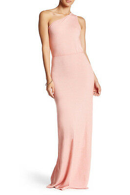 Go Couture One Shoulder Maxi Dress Fiesta Coral Xl Nwt 168 39 00