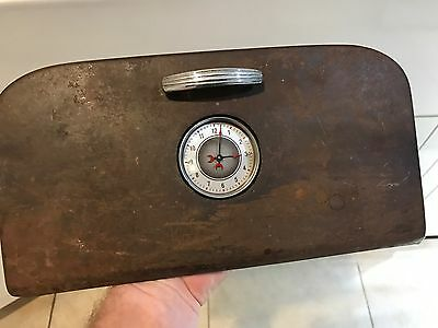 Extremely RARE! 1936 1935 Ford Glove Box ( SOLD WITHOUT Clock)