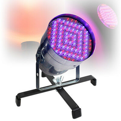 Professional Party DJ Disco Lighting Chrome PAR CAN LED 56 Light WITH STAND