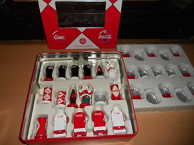Beautiful, 2004 Coca Cola Chess Game Collectors Edition, NEW & UNUSED!