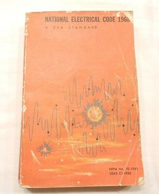 National Electrical Code 1968 Edition, Usa Standard, Nfpa 70-1968