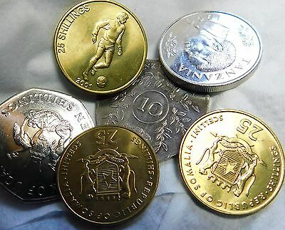 6X Uncirculated African Coins   A14-568