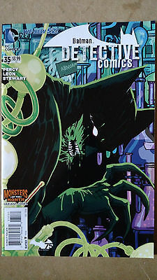 Batman Detective Comics #35 1St Print Monsters Variant Dc Comics (2014) New 52