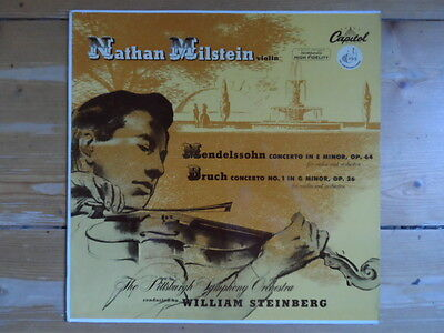 Nathan Milstein-Mendelssohn & Bruch-Capitol Records Germany-P 8243