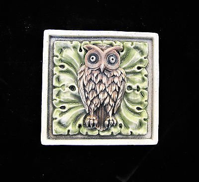 Owl  Bird  Arts And Crafts  Gothic Ellison Tile