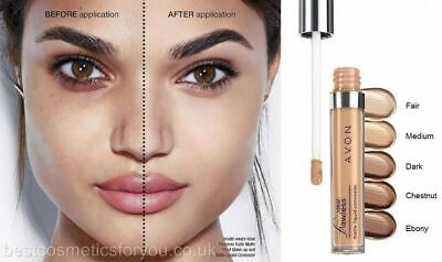 Avon Ideal Flawless Matte Liquid Concealer 6ml ~ Assorted Shades ~ New & Sealed