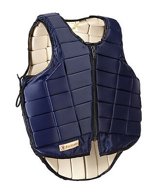 Adults Racesafe RS 2010 Body Protector Navy Size Large