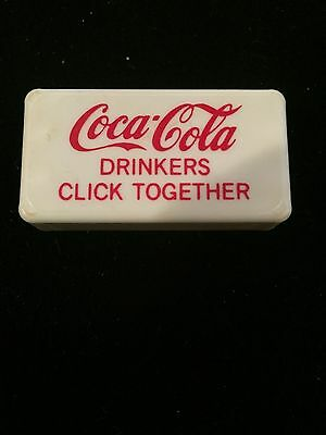 Coca-Cola Clicker,advertisement, toy,