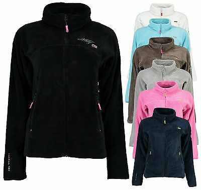 Geographical Norway Lady Fleece Jacke Fleecejacke Übergang Sweatjacke Damenjacke