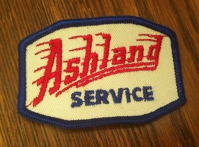 Vintage Ashland Oil Service Station Patch MINTY NOS Gas Sign Advertising