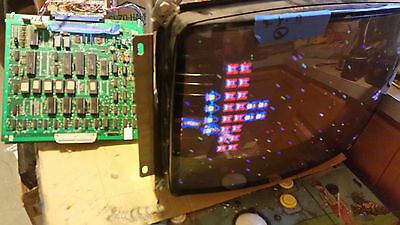 Original Midway Galaga BOARD video arcade game TESTED and WORKING