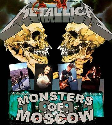 METALLICA – MONSTERS OF MOSCOW 1cd