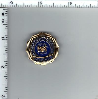 New York State Department of Correctional Services Officer Mini Badge