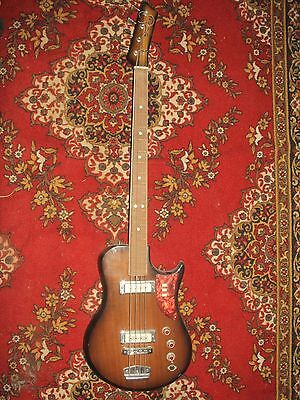 Ural 510 Bass Guitar USSR Rare Vintage Electric Soviet Russian 1975-1980