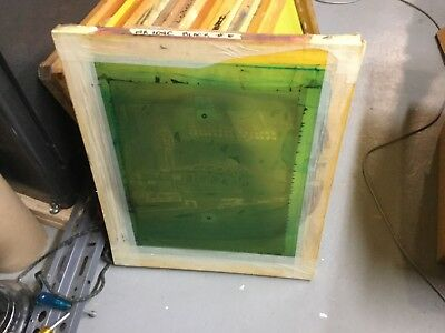 10 Used Wood Silk Screen Printing Frames 20 X 24 Patterns Designs Railroad
