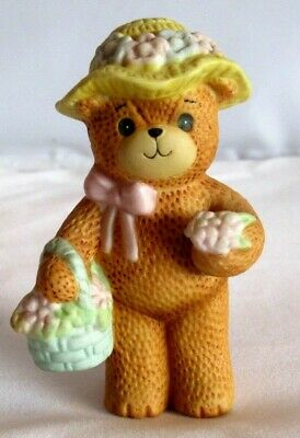 Enesco Lucy and Me SPRING BONNET Bear - 1982