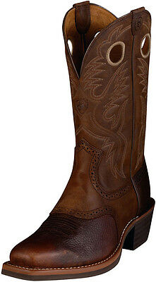 Men's Ariat Heritage Roughstock #10002227  Brown Oiled Rowdy  Size 12 D