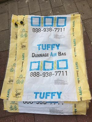 30 (thirty) Dunnage Air Bags 3'x4' like new used once