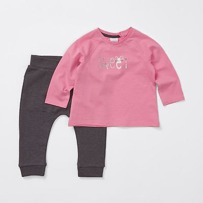 NEW Baby 2 Piece Long Sleeve Mouse T-Shirt & Trackpants Set