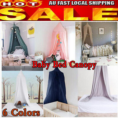 NICE Canopy Bed Netting Mosquito Bedding Net Dome Baby Kids Play Tents Cotton MQ