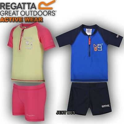 Regatta Kids Wader Baby Swimwear Beach Swim Set UV Protection Swimming 18 - 24 M