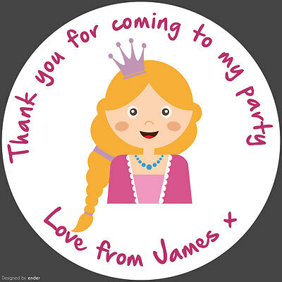 35 Personalised Drum Kit 37mm Round Stickers labels Party Thank You sweet cones