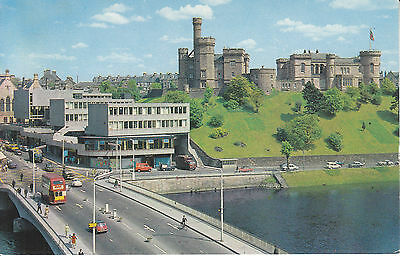 Postcard - The Castle, Bridge and River Ness, Inverness