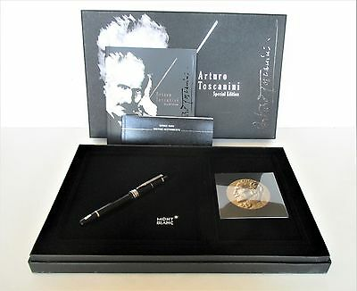 Montblanc Limited Edition Arturo Toscanini Fountain Pen New 101172