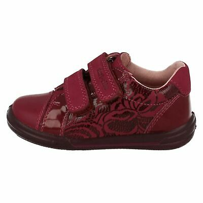 Startrite Girls Flexy-Soft Milan Berry Pink/Burgundy Patent/Leather Shoes
