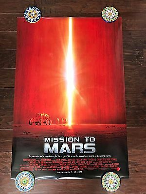 Mission To Mars 27X40 Ds Movie Poster One Sheet New Authentic