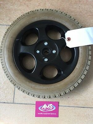 Quickie Samba 2 Electric Wheelchair Complete Main Rear Drive Wheel - Parts