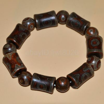 """Certified 100%Natural Tawny agate Bracelets""""Grade A"""" ~red"""
