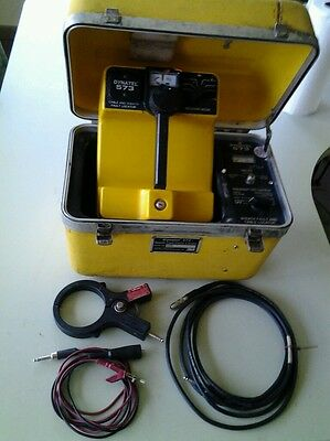 3M Dynatel 573 CABLE LOCATOR w Batteries, Test Leads, & Dynacoupler