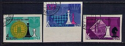 RUSSIA ,USSR STAMPS SC# 2742a-4a Imperforated, Used