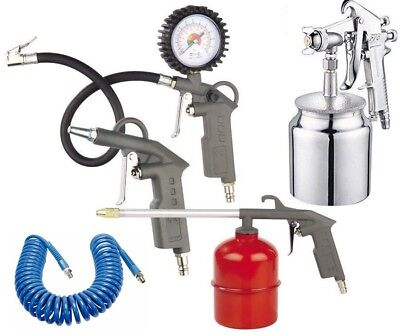 Kit 5 accessori Aflatex pneumatici compressore ariAir Tool aerografo