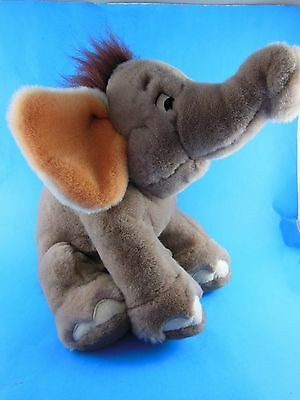 "Jungle Book Hathi Baby Elephant Plush Bean Bag  Bottom Disney Store 10"" x 16"""