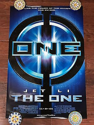 The One Jet Li 27X40 Ds Movie Poster One Sheet New Authentic