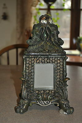 ~ Beautiful African Elephant 3-D Picture Frame/container Collectible Figurines ~