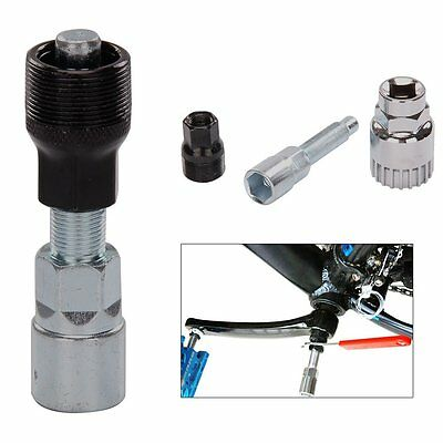 Bicycle Cycle Crank Wheel Puller Remover Repair Extractor Mountain BikeTool Set