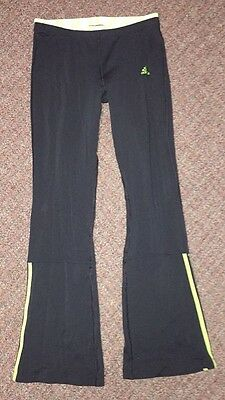 Vintage Girls Yoga Pants Made By Adidas Size L Made In The USA RN #88387