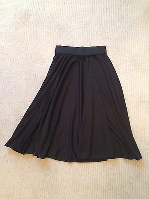 Black Dance Character Skirt - 22 INCHES - SMALL