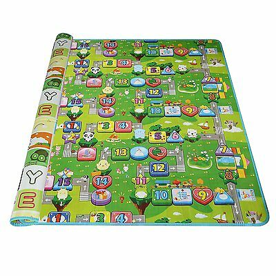 Arshiner Baby Kid Toddler Play Crawl Mat Carpet Playmat Foam Blanket Rug for
